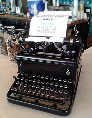 This was what my generation used in writing research papers etc. [Djournal Coffee Bar, Grand Indonesia]